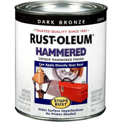 Rust-Oleum Hammered Metal Finish