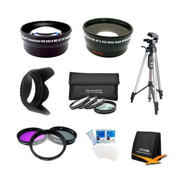 Special PRO SHOOTER 58mm WIDE ANGLE/TELEPHOTO LENS KIT