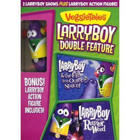 Larryboy Double Feature: Larryboy & The Fib From Outer Space / Larryboy And The Rumor Weed (With Larryboy Action Figure) (Full Frame)