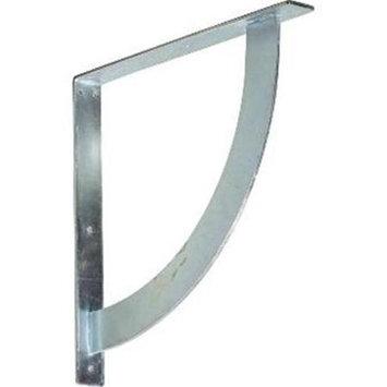 Ekena Millwork BKTM02X18X18BUCRS 2 in. W x 18 in. D x 18 in. H Bulwark Bracket Steel