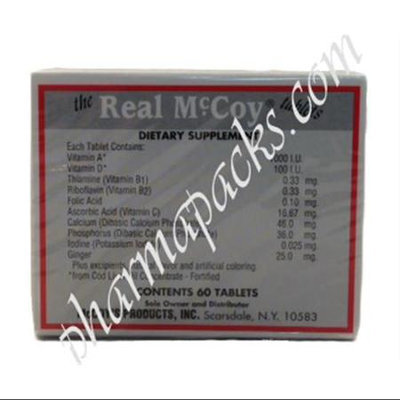 Mccoys Real Mccoy Dietary Supplement Tablets - 60 Tablets