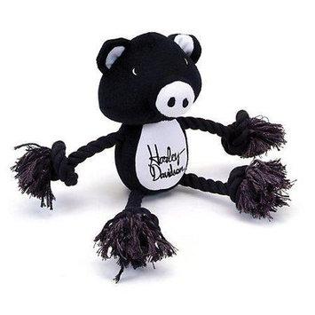 Coastal Pet Products Harley Plush Pig Rope Tug Dog Toy