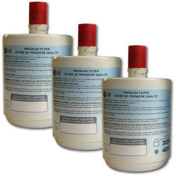 Lge Genuine LG LT500P 5231JA2002A Premium Refrigerator Water Filter - 3 Pack