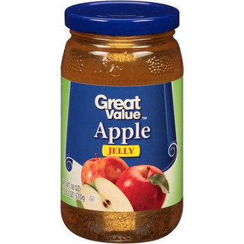 Great Value: Apple Jelly, 18 Oz