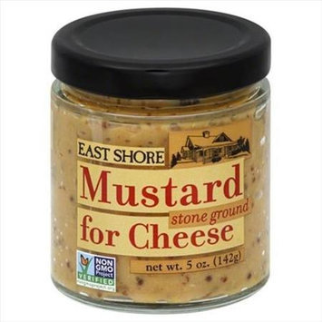 East Shore 5 oz. Gourmet Mustard For Cheese Stone Ground - Case Of 12