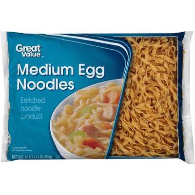 Great Value: Medium Egg Noodles, 16 oz
