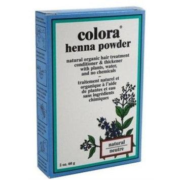 Colora - Henna Powder Natural Organic Hair Color Natural - 2 oz.