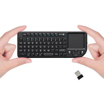 Favi Entertainment Favi Mini Keyboard with Laser Pointer - Black (FE01-BL)