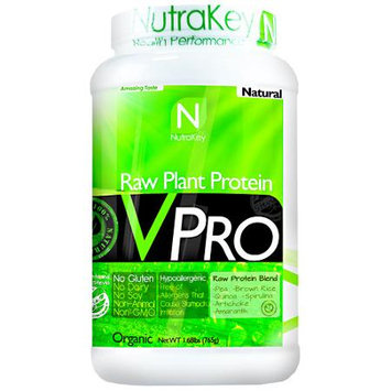 NutraKey VPRO Raw Plant Protein Natural 1.68 lbs