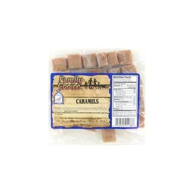 Family Choice 8.5 Oz Caramels 1138 by Rucker's Candy