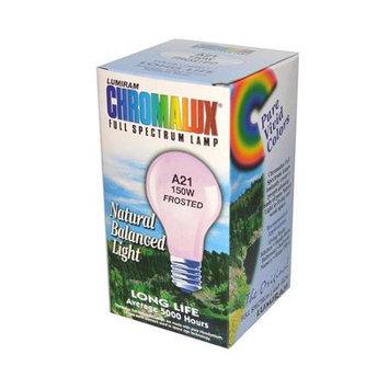 Chromalux 902106 150-Watt Full Spectrum Frosted Light Bulb