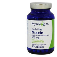 Physiologic's PhysioLogics Niacin (Flush Free) 500mg 90c
