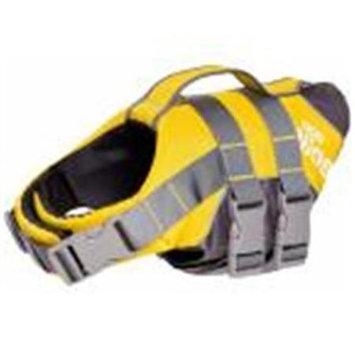 Helios Life Vests Splash-Explore Outer Performance 3M Reflective and Adjustable Buoyant Dog Harness and Life Jacket HA3YLSM