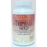 Planetary Ayurvedics Triphala Gold 550 mg, 120 Vegetarian Capsules, Planetary Herbals