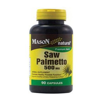 Mason Natural, Saw Palmetto 500 mg, 90 Capsules