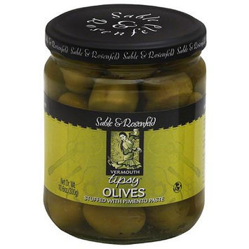 Sable & Rosenfeld Vermouth Tipsy Olives, 10.6 oz, (Pack of 6)