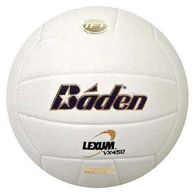 Baden Lexum VX450 Game Volleyball Royal/White NFHS