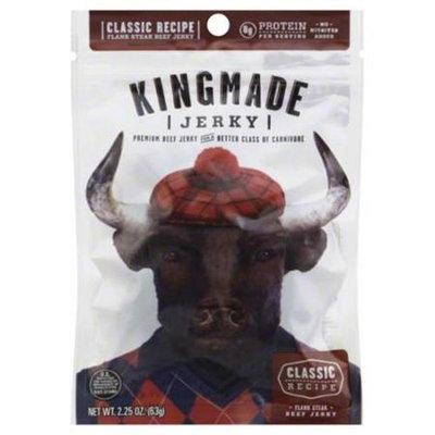 Kingmade Jerky Classic Recipe 2.25 Oz Pack Of 8