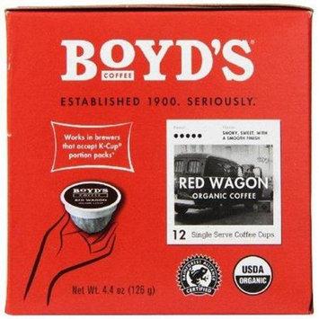 Boyds Coffee BPC1059878 Red Wagon 6 x 12 Ct