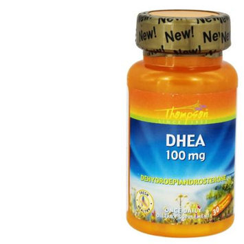 Thompson - DHEA 100 mg. - 30 Vegetarian Capsules