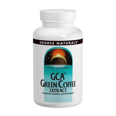 GCA Green Coffee Extract, 120 Tablets, Source Naturals