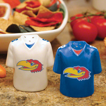 The Memory Company Kansas Gameday Salt and Pepper Shakers