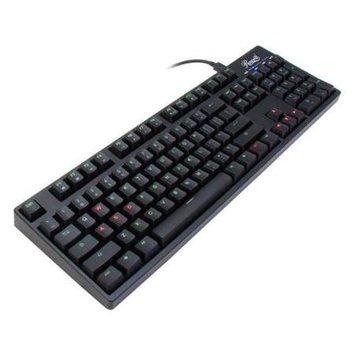 Rosewill RK-9200BR Mechanical Keyboard - Cable - Black - USB - 104 Key - Mechanical