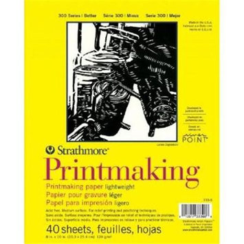 Strathmore Lightweight Printmaking Paper Pad 8