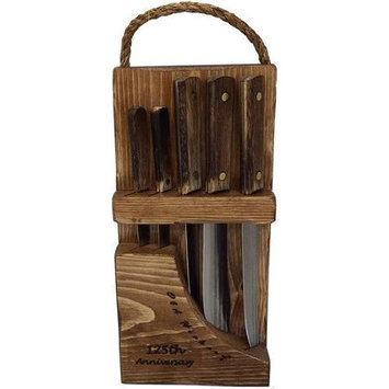 Ontario Knife Co Old Hickory 5 Piece Block Set
