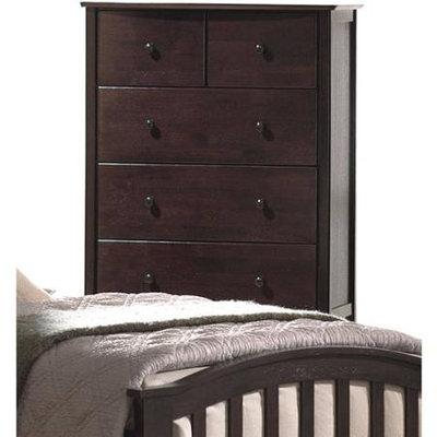 Acme Furniture Industry 04996 San Marino Chest in Dark Walnut