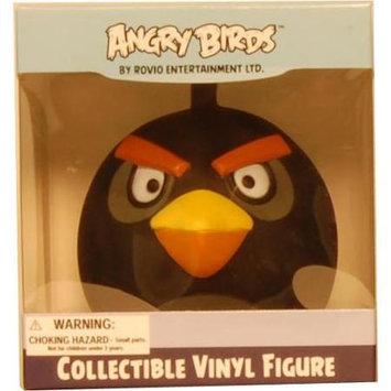 Commonwealth Toy Angry Birds 3 Vinyl Figure Black Bird