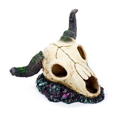 Penn-plax Inc. Penn Plax RAM Skull Aquarium Ornament
