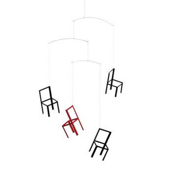 Flensted Mobiles Nursery Mobiles, Flying Chairs