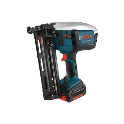 Bosch FNH180K-16-RT 18V Cordless Lithium-Ion 16-Gauge 2-1/2 in. Angled Finish Nailer Kit