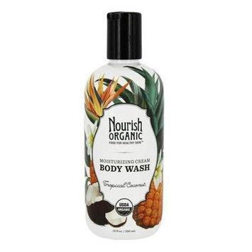 Nourish - Organic Body Wash Tropical Coconut - 10 oz.