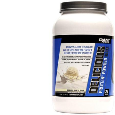 Giant Sports Products Delicious Protein Delicious Vanilla Shake - 2 lbs