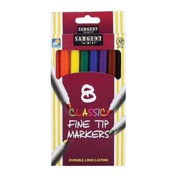 Sargent Art Inc. SAR221540 Sargent Art Classic Markers Fine Tip 8 Colors