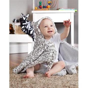 Scene Weaver 70505 Snow Leopard Hooded Blanket