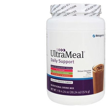 Metagenics - UltraMeal Daily Support Deluxe Chocolate Flavor - 20.24 oz.