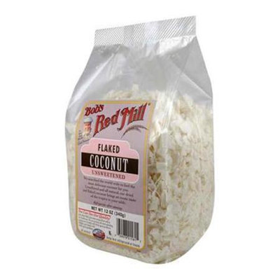 Bob's Red Mill Bobs Red Mill BG11022 Bobs Red Mill Coconut Flakes Unsweetened - 1x25LB