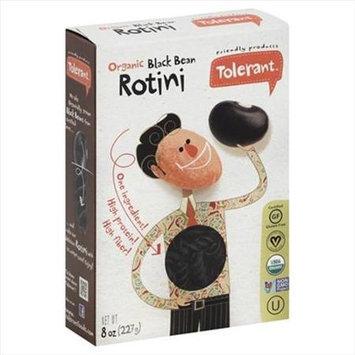 Tolerant 8 oz. Organic Non-Gmo - Black Bean Rotini Case Of 6