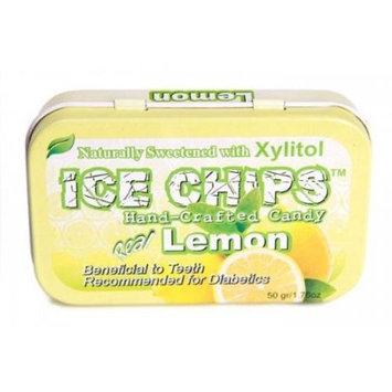 Ice Chips Ginger Xylitol Mints by Ice Chips Candy - 1 Tin