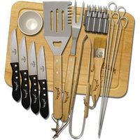 Jim Beam Jb0102 22-piece Grill Set