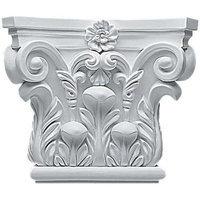Ekena Millwork CAP08X07X03RC 8.62 in. W x 7.25 in. H Architectural Corinthian Ca