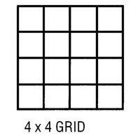 Alvin & Company Alvin CP10004422 Grid Vel 18x24 4x4 50 Sht Pd