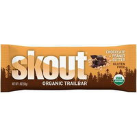 Skout Natural Organic Trailbar, Color: Chocolate PEANUT BUTTER