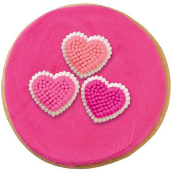Notions Marketing Icing Decorations -Micro Mini Hearts 81/Pkg #zNI