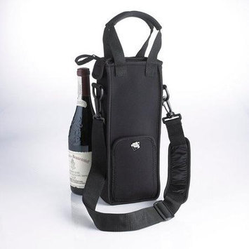 Wine Enthusiast 1 Bottle Neoprene Wine Tote Bag