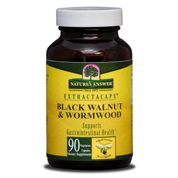 tures Answer Black Walnut & Wormwood, 90 Liquid Capsules, Nature's Answer