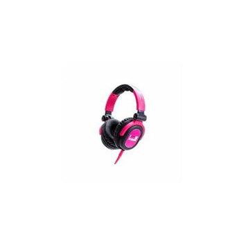 Idance FDJ600 Pink/black Swivel Cup Dj Headphon